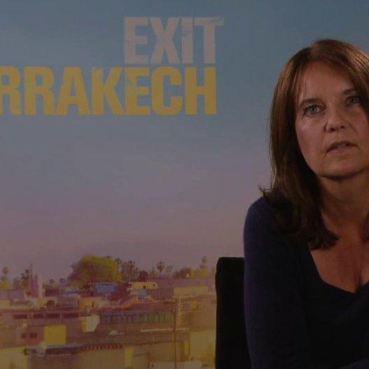 Caroline Link - Regisseurin - über das Road-Movie Exit Marrakech - Interview Poster