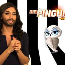 Conchita Wurst - Eva - über das Besondere der Madagascar-Filme - Interview Poster