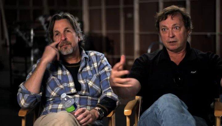 Peter und Bobby Farrelly über Jim Carrey Jeff Daniels und ihre beiden Charaktere - OV-Interview Poster