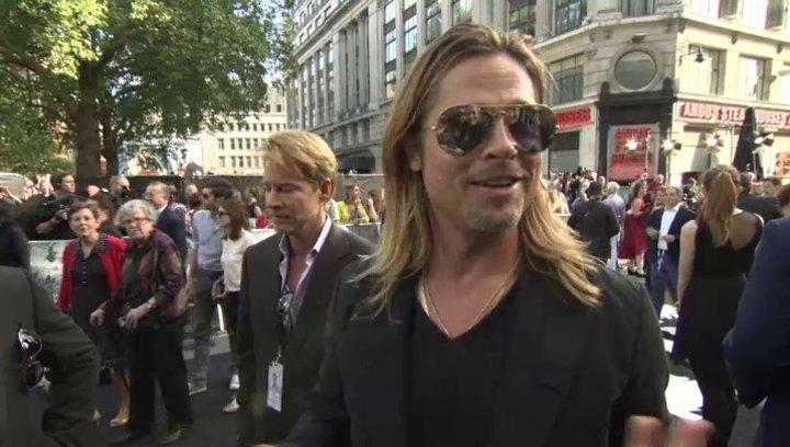 Brad Pitt - Gerry Lane - Premiere London - OV-Interview Poster