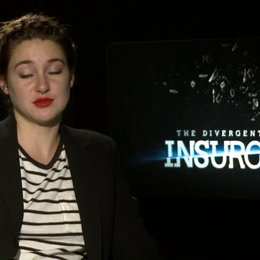 Shailene Woodley - Tris - über Tris - OV-Interview Poster