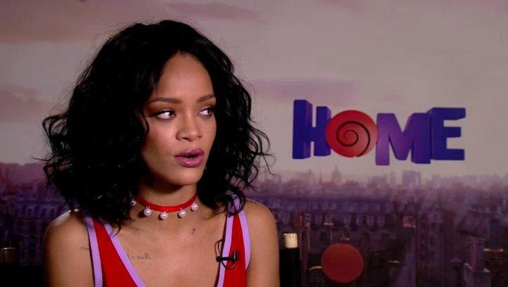 Rihanna über ihren Charakter Tip - OV-Interview Poster