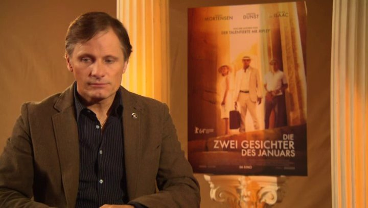 Viggo Mortensen - Chester MacFarland - über die Figuren in Patricia Highsmiths Romanen - OV-Interview Poster