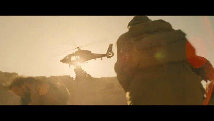 Attacke auf den Helikopter - Szene Poster