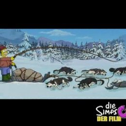 Homer und die Schlittenhunde - Szene Poster