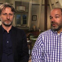 Philipp Budweg und Robert Marciniak über Steinhöfels bücher - Interview Poster