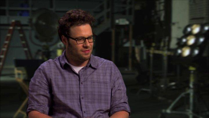 Seth Rogen über die verschiedenen Elemente des Films - OV-Interview Poster