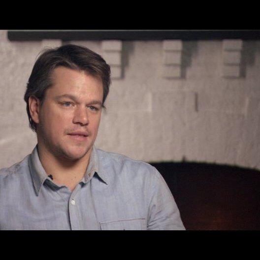 Matt Damon (La Boeuf) über die Beziehung zwischen La Boeuf und Rooster - OV-Interview Poster