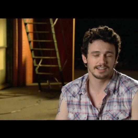 James Franco über die Story - OV-Interview Poster