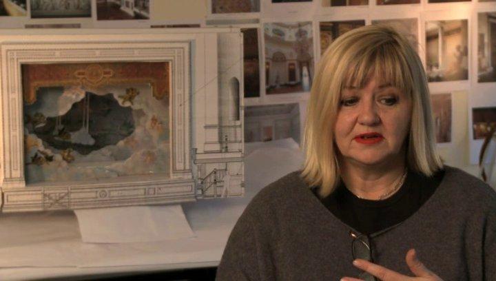 Sarah Greenwood über die Erwartungen an den Film - OV-Interview Poster