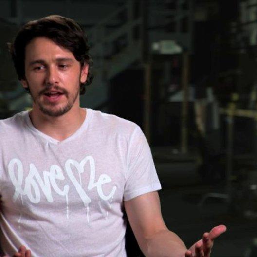 James Franco über die Entwicklung seiner Rolle - OV-Interview Poster