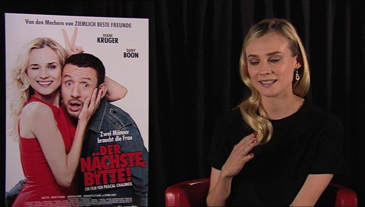 Diane Kruger über Isbelle - Interview Poster