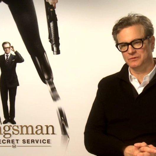 Colin Firth über seine Inspiration die Rolle zu kreieren - OV-Interview Poster
