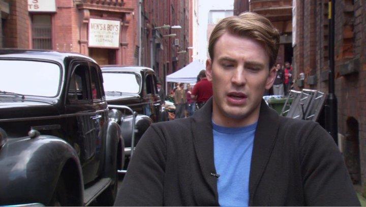 Chris Evens - Steve Rogers - Captain America - über Die Geschichte - OV-Interview Poster