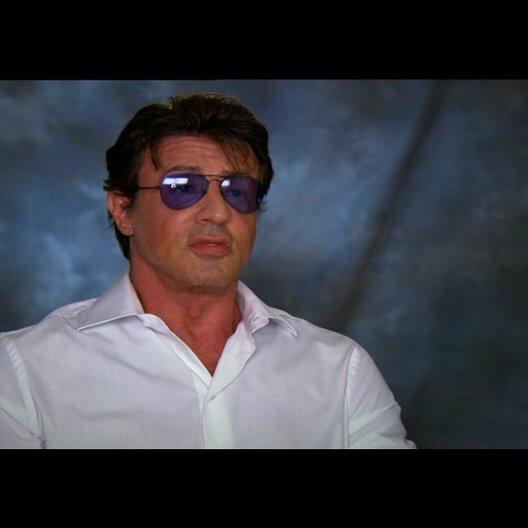 Sylvester Stallone über den Film - Teil 1 - OV-Interview Poster