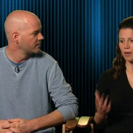 Tony Smeed und Amy Lawson Smeed - Supervising Animator und Animator - Amy über die Aussage des Films - OV-Interview Poster