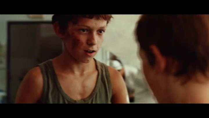 Lucas hilft den Menschen im Krankenhaus sich wiederzufinden - Szene Poster