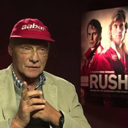 Niki Lauda über James Hunt - OV-Interview Poster