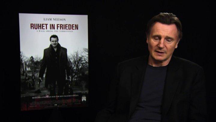 Liam Neeson über den Drehort New York - OV-Interview Poster