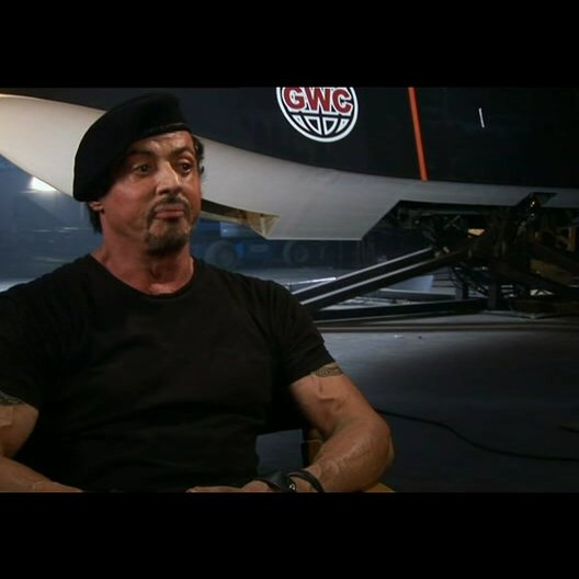 Sylvester Stallone über die Story - Teil 1 - OV-Interview Poster