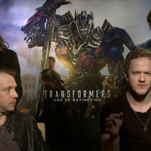 Imagine Dragons - Musiker - über die Entstehung des Film-Songs Battle Cry - OV-Interview Poster