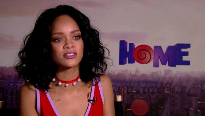 Rihanna über die Aussage des Films - OV-Interview Poster