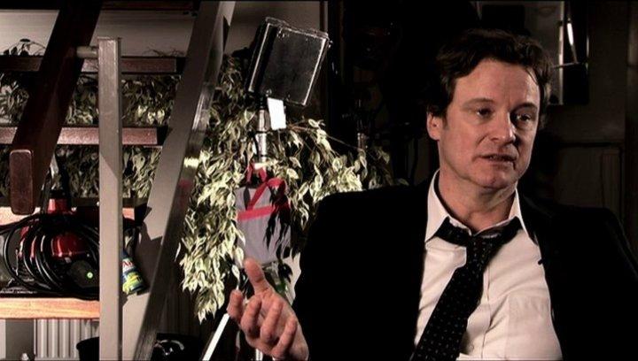 Colin Firth über Bens Verantwortung für seine Frau - OV-Interview Poster