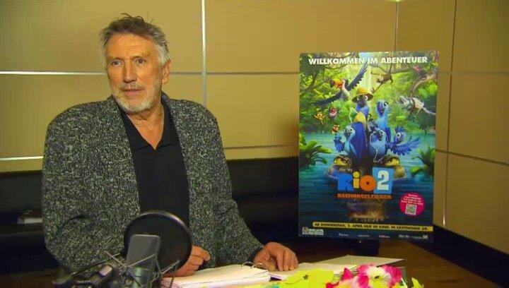 Christian Brückner - Nigel - über Nigel I - Interview Poster
