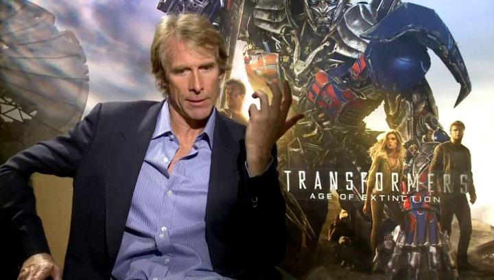 Michael Bay - Regisseur - über den Dreh in IMAX 3D - OV-Interview Poster
