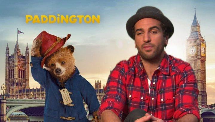 Elyas Mbarek - Stimme von Paddington - über Famile Browns Reaktion auf Paddington - Interview Poster