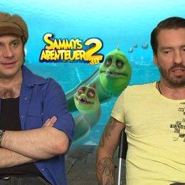 Bosshoss - Philipp und Marco - über den Look von Sammys Abenteuer 2 - Interview Poster
