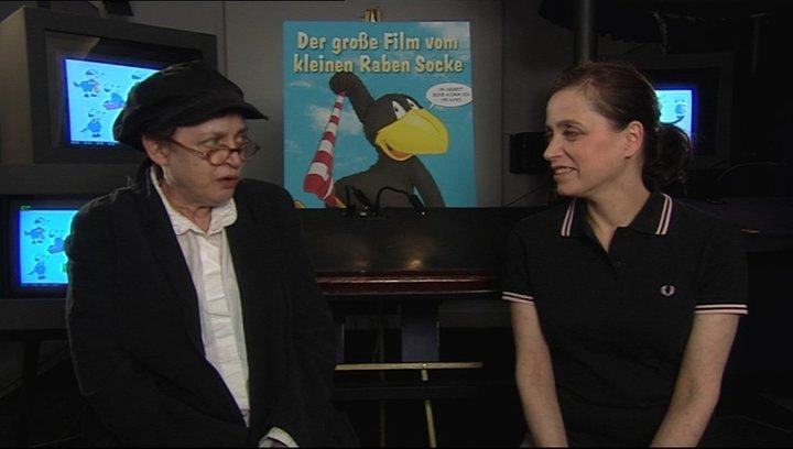 Katharina Thalbach über die Zusammenarbeit mit Anna - Interview Poster