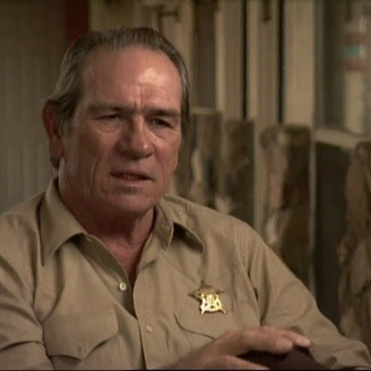 Interview mit Tommy Lee Jones ( Ed Tom Bell ) - OV-Interview Poster