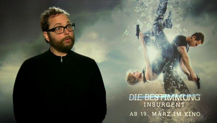 Robert Schwentke - Regisseur - über die optischen Neuerungen in Insurgent - Interview Poster