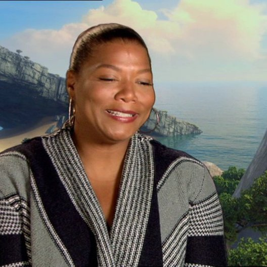 Queen Latifah über prehistorische Teenager - OV-Interview Poster