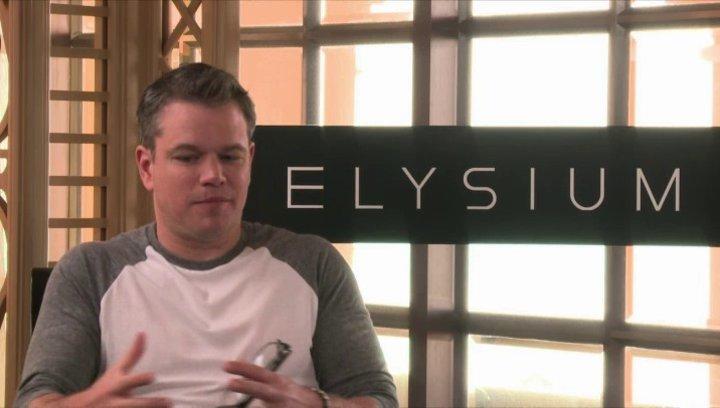 Matt Damon über die Androiden - OV-Interview Poster