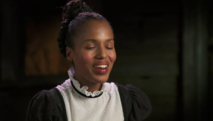 Kerry Washington über die Besetzung - OV-Interview Poster