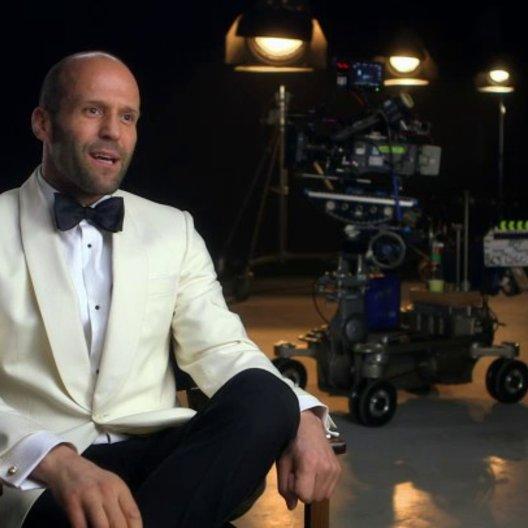 Jason Statham über die Komik im Film - OV-Interview Poster