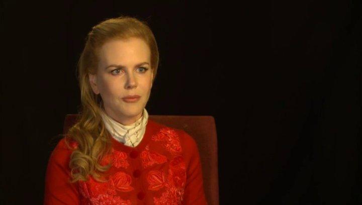 Nicole Kidman (Patti Lomax) über die Arbeit mit Colin Firth, über die Geschichte - OV-Interview Poster
