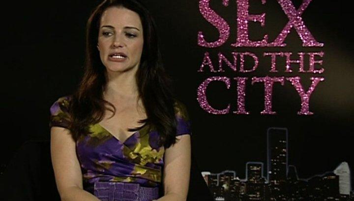 Kristin Davis - Interview Poster