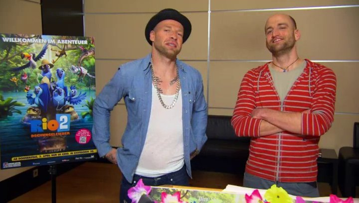 Mateo und Mr Reedoo - Pedro und Nico - über Nico und Pedro - Interview Poster