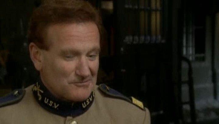 Interview mit Robin Williams über den echten Präsident Roosevelt uns seine Erfahrungen mit Museumsbesuchen - OV-Interview Poster