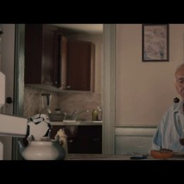Robot and Frank have breakfast (english) - Szene Poster