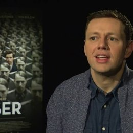 Christian Friedel (Georg Elser) über Elser als Freiheitskämpfer oder Terrorist, über die Rechtfertigung der Tötung Unschuldiger - Interview Poster