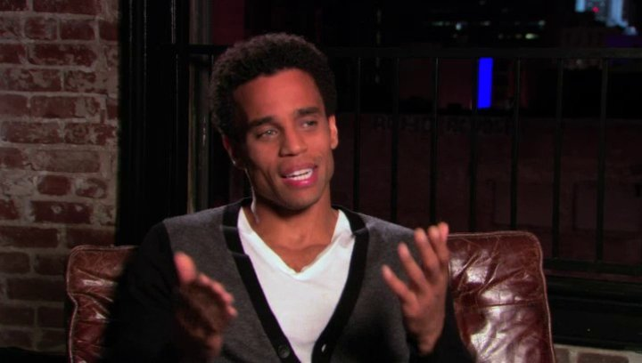 Michael Ealy über die Story - OV-Interview Poster