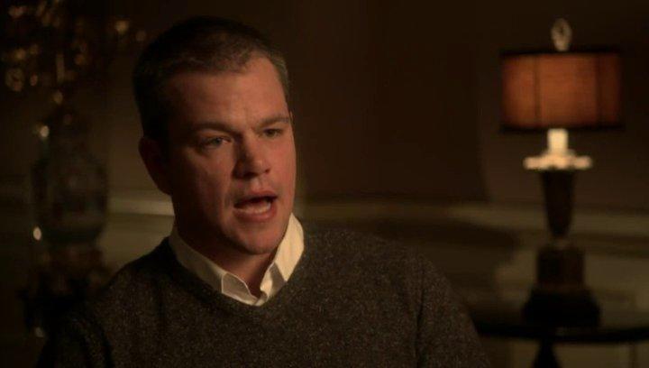 Matt Damon - Scott - über sein Interesse an Liberace, den Film und Michael Douglas - OV-Interview Poster
