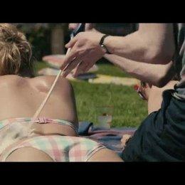 Sonnenbaden in Cornwall - Szene Poster
