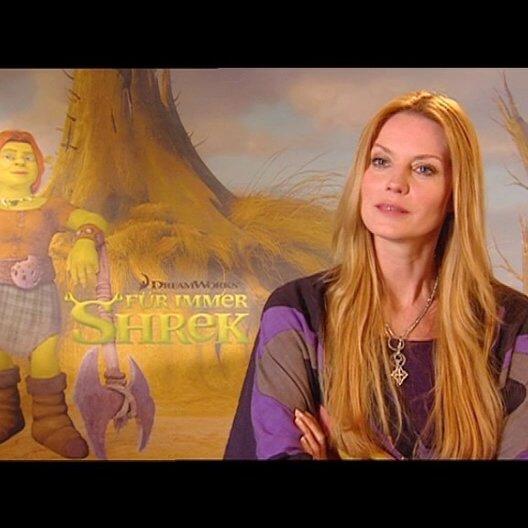 ESTHER SCHWEINS / Fiona deutsche Stimme über Esel und Kater - Interview Poster