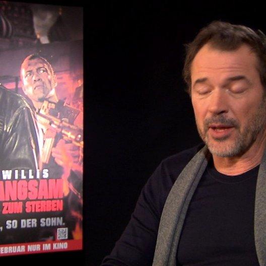Sebastian Koch (Komarov) über seine Besetzung im Film - Interview Poster
