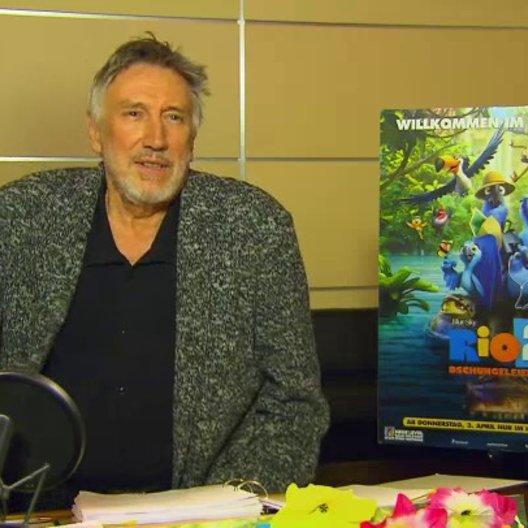 Christian Brückner - Nigel - über die Synchronaufnahmen - Interview Poster
